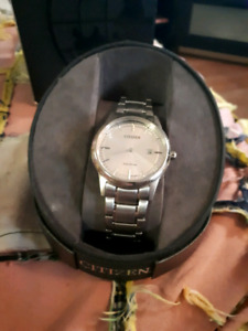 New Citizen eco drive watch with box