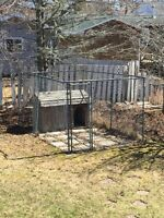 Free Caged Fencing