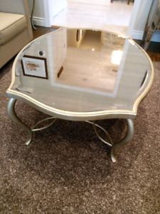Complete mirror table set - four pieces
