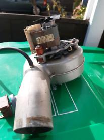 Boiler fan part