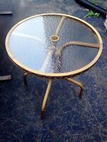 Small patio table - perfect condition
