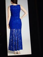 Robe bleue longue utilisee 1 fois. long dress used once