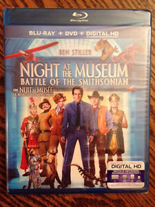 Night at the Museum, Battle of the Smithsonian, DVD/Blu-Ray/Digi