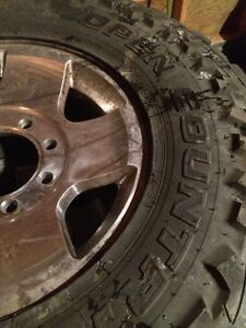 35x12.5R17LT Toyo open Country on Dodge 8 Bolt Rim Strathcona County Edmonton Area image 2