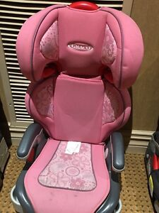 Graco girls Booster seat - high back - great condition