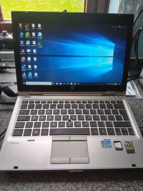 HP Elitebook 13' Windows 10 laptop, Core i7, 8gb ram, 250gb SSD, DVD, | in  Carlisle, Cumbria | Gumtree