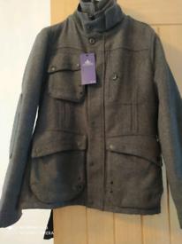 Men's 100%wool coat (Small)