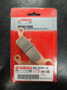YAMAHA ATV GRIZZLY REAR BRAKE PADS - Part #3B4W00460000