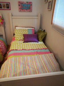 Bedding for Kids single bed x 2- swap for double bed bedding