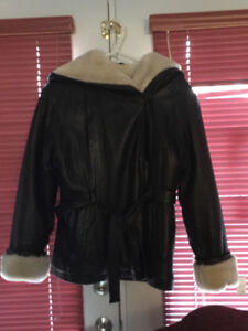New - Woman's WILSON LEATHER Jacket/Coat - Size L