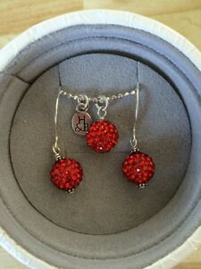 Red sparkle ball Hillberg and Berk set