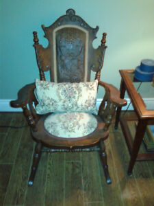 Antique rocker.