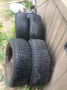 winter tires and rims 235/60/R16
