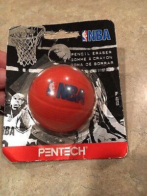 Pentech Nba Pencil Eraser 1997 New Package Opened Please Read