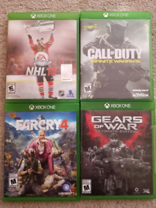 Xbox 1 games for sale