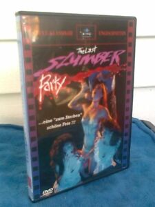 THE LAST SLUMBER PARTY - DVD.