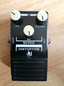 JHS DS 700 Super Distortion guitar effects pedal. 1980s made in Japan.