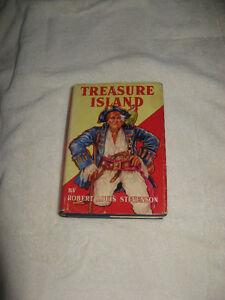 vintage 1924 Treasure Island by Robert Louis Stevenson