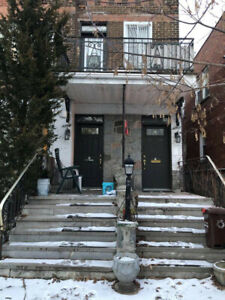 basement apartment, central montreal