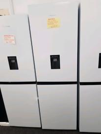 hisese ex display fridge freezer still in packaging