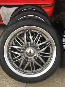 Rims & rubbers 4sale Kitchener / Waterloo Kitchener Area image 2