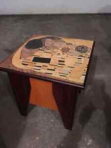 Small Decorative Table with Storage London Ontario image 1