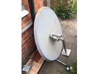 Satellite dish 120cm