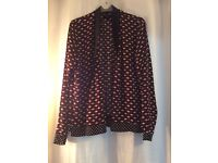 Zara blouse/jacket S