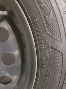195 55R 15 Winter tires