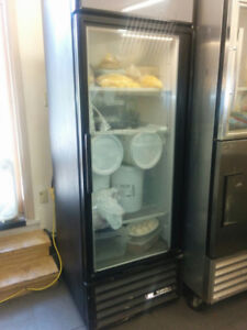 $700 Used fridge 1 window door True Freezer