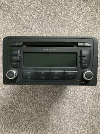 Audi car stereo