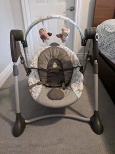 Graco portable infant swing