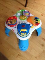Fisher price table poppy