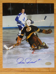 GILLES GILBERT Boston Bruins 8 x 10 Signed Photo With COA