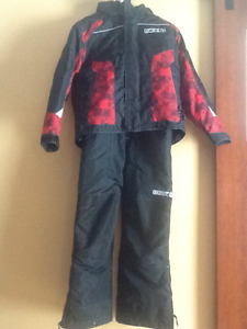 Snowmobile jacket/pants youth 12