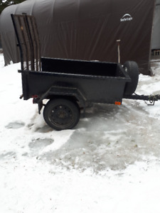 HANDY LITTLE UTILITY TRAILER -ALL STEEL HEAVY DUTY $500