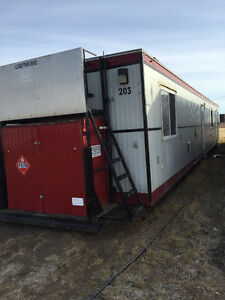 Wellsite trailers, skid shacks, well site trailers