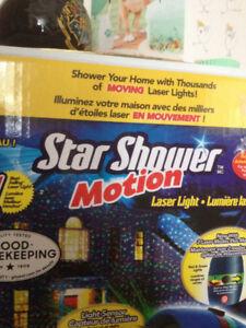 Star Shower Christmas lights--$20 each