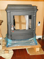 Of the grid oil stove-fireplace