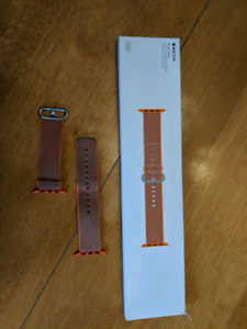 Apple Watch 42 mm Space Orange Woven Nylon Band