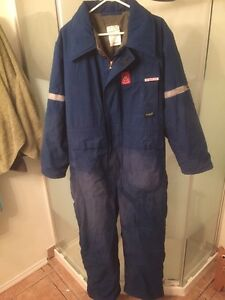 Large Men's Insulated Coveralls