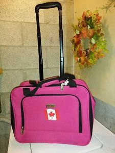 Canada Luggage with Wheels & extendable handle $35.00 Now $25.00