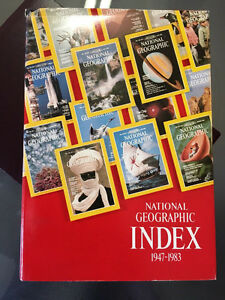 42 years of National Geographics