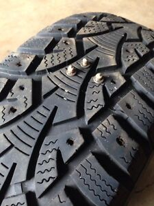 Stud removal service for studded tires