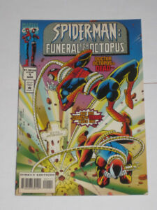 Spider-Man: Funeral for an Octopus#'s 1,2 & 3 Kaine! comic book