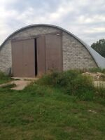120FT STEEL QUONSET TO LEASE IN SPRINGBANK AREA