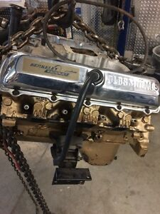 350 Oldsmobile jet boat engine