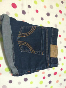 Short jean blue - Hollister