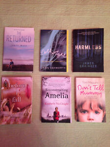 Variety of Novels (Teen to Adult)