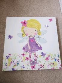 Dunelm Fairy Print (Girls bedroom)